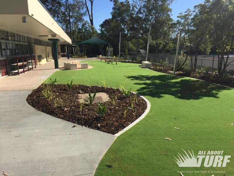Artificial Grass School Installation
